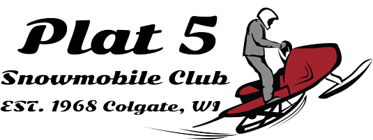 Plat5 Snowmobile Club Established 1968 Colgate Wisconsin