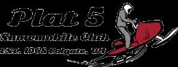 Plat5 Snowmobile Club Logo Est. 1968 Colgate, WI
